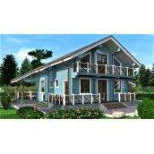 Будинок дерев`яний з профільованого бруса 15х13 м