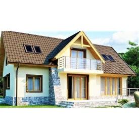Деревянный дом из профилированного бруса 18х13 м