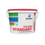 Краска фасадная Kolorit Standart A базис C 9 л