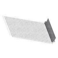 Профіль примикаючий зі склосіткою Ceresit СТ340 A03 для віконних і дверних блоків 6 мм 2,4 м 20 шт