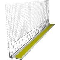 Профіль віконний примикаючий з сіткою 6 мм 2,4 м