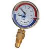 Термоманометр Стеклоприбор сталь 80 мм 6 бар 1/2