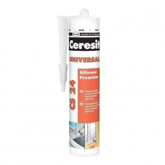 Эластичный силиконовый герметик Ceresit Universal 280 мл (645831)