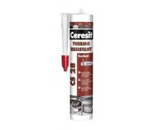 Термостойкий герметик Ceresit CS 28 300 мл (1411188)