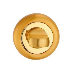 Поворотник під WC MVM T8 PB/SB полірована латунь/стара бронза