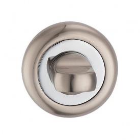 Поворотник під WC MVM T8 SN/CP матовий нікель/полірований хром