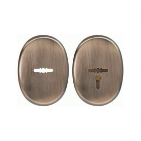Комплект декоративних накладок Protect AB антична латунь під сувальдний ключ