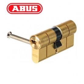Цилиндр ABUS D6 PS 80 мм 40х40 мм ключ - ключ латунь матовая