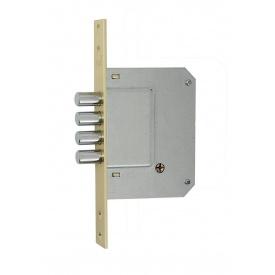 Замок Siba 10189/4 MF PB-5 ключа латунь полированная
