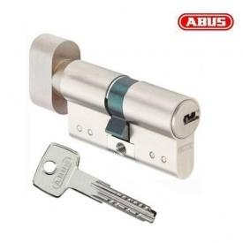 Цилиндр ABUS KD15 80 мм 40х40Т ключ-вороток никель матовый