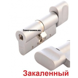 Цилиндр Abloy Protec 2 Hard 72 мм 36х36 мм к/т никель СY 333