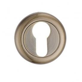 Накладка дверна під циліндр MVM E5a AB стара бронза
