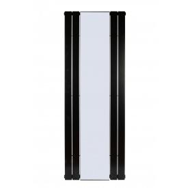 Дизайнерский радиатор с зеркалом Mirror 1 1800х600 мм RAL 9005 Mat