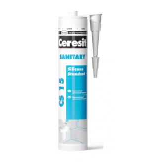 Силиконовый герметик Ceresit Sanitary для ванны и кухни 280 мл (1137324)