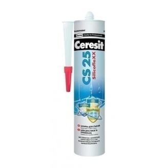 Силиконовый герметик Ceresit CS25 MicroProtect 280 мл бежевый
