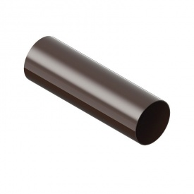 Водосточная труба INES 80 мм3 м коричневый