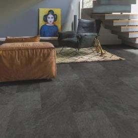 Вініл Quick-Step Ambient Glue Plus AMGP40035 Black slate