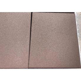 Парапет прессованный широкий коричневый 500x400x55 мм