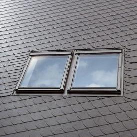 Комбінований комір VELUX Оптима ESK 0021 MR06 для мансардних вікон 78х118 см