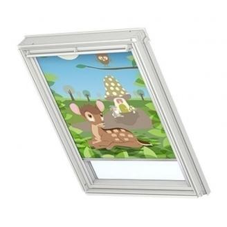 Затемняющая штора VELUX Disney Bambi 2 DKL S06 114х118 см (4613)