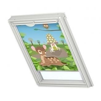 Затемняющая штора VELUX Disney Bambi 2 DKL S08 114х140 см (4613)
