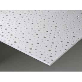 Гипсокартон Knauf Cleaneo Akustik 8/15/20R 12,5х1197х2000 мм белый