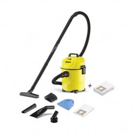 Хозяйственный пылесос Karcher WD 1 Car + мешки (STB127)