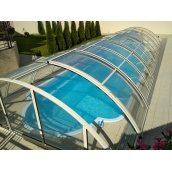 Павильон на бассейн 6х3 м раздвижной