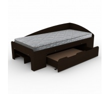 Кровать Компанит 90+1 лдсп 90х2000 мм венге