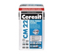 Клейова суміш Ceresit CM 22 MEGA FORMAT FLEXIBLE 25 кг