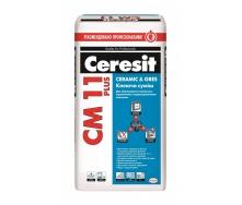 Клеящая смесь Ceresit СМ 11 Plus Ceramic & Gres 25 кг