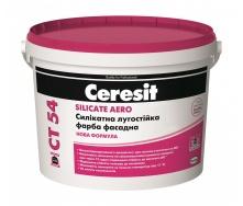Фасадная краска Ceresit CT 54 силикатная 3 л