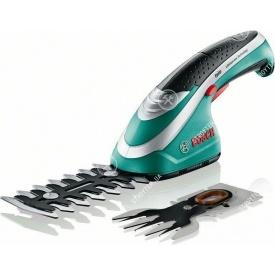 Акумуляторні ножиці для трави + кущоріз Bosch ISIO (STB157)