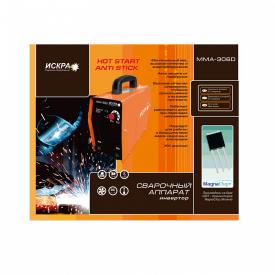 Сварочный инвертор Искра ММА-306D (STB258)