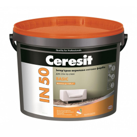 Інтер'єрна структурна фарба Ceresit IN 57 STRUCTURE База А акрилова 3 л (Копія)