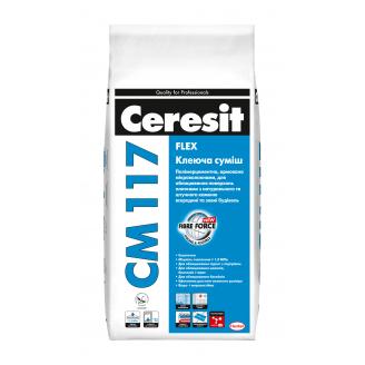 Клеюча суміш Ceresit CM 117 Flex 5 кг