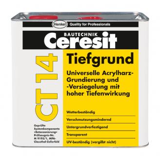 Грунтовка универсальная глубокопроникающая Ceresit СТ 14 5 л