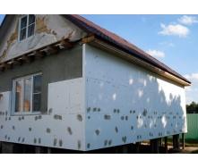 Утеплення фасаду будинку