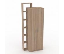 Шкаф-9 Компанит дсп дуб-сонома двухдверный с полочками