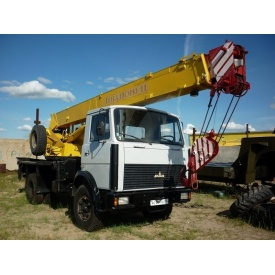 Аренда автокрана КС-35715 16 т на базе МАЗ