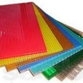 Сотовий полікарбонат Sotalight 4 мм прозорий