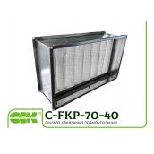 Фільтр канальний прямокутний C-FKP-70-40-G4-panel 700х400 мм