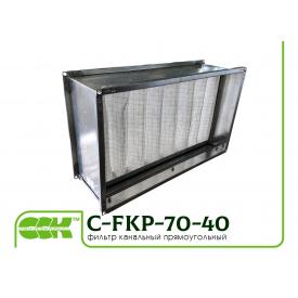 Фильтр канальный прямоугольный C-FKP-70-40-G4-panel