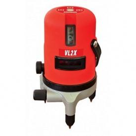 Лазерный нивелир на 2 площади vl2x Vorhut