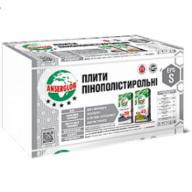 Плита пінополістирольна Anserglob ЕРЅ-50 0,5х1 м 20 мм