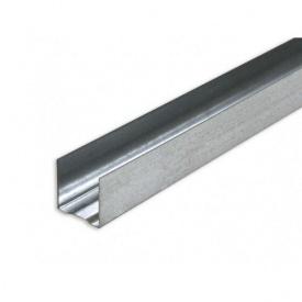Профиль гипсокартонный UD 27 металл 0,36 мм 3 м