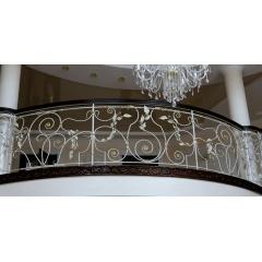 Ковані огородження сходів, перила та поручні