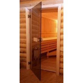 Стеклянные двери для саун 80х190
