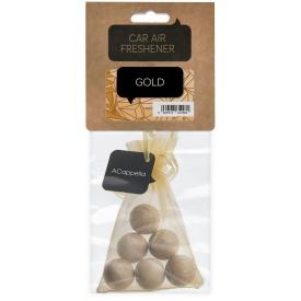 Ароматизатор для автомобіля ACappella Золото, лаванда лимон сандал (5060574612981)
