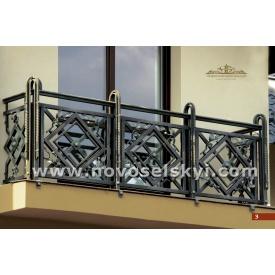 Балкон кованый бронза
